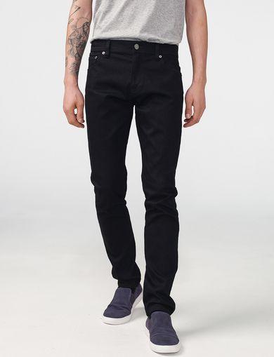 ARMANI EXCHANGE Yarn-Dye Black Skinny Jean Man front