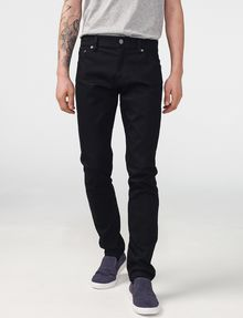 ARMANI EXCHANGE Yarn-Dye Black Skinny Jean Skinny Fit Denim U f