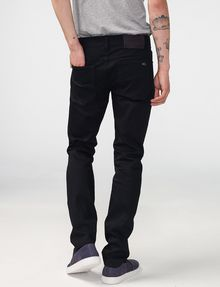ARMANI EXCHANGE Yarn-Dye Black Skinny Jean Skinny Fit Denim U r