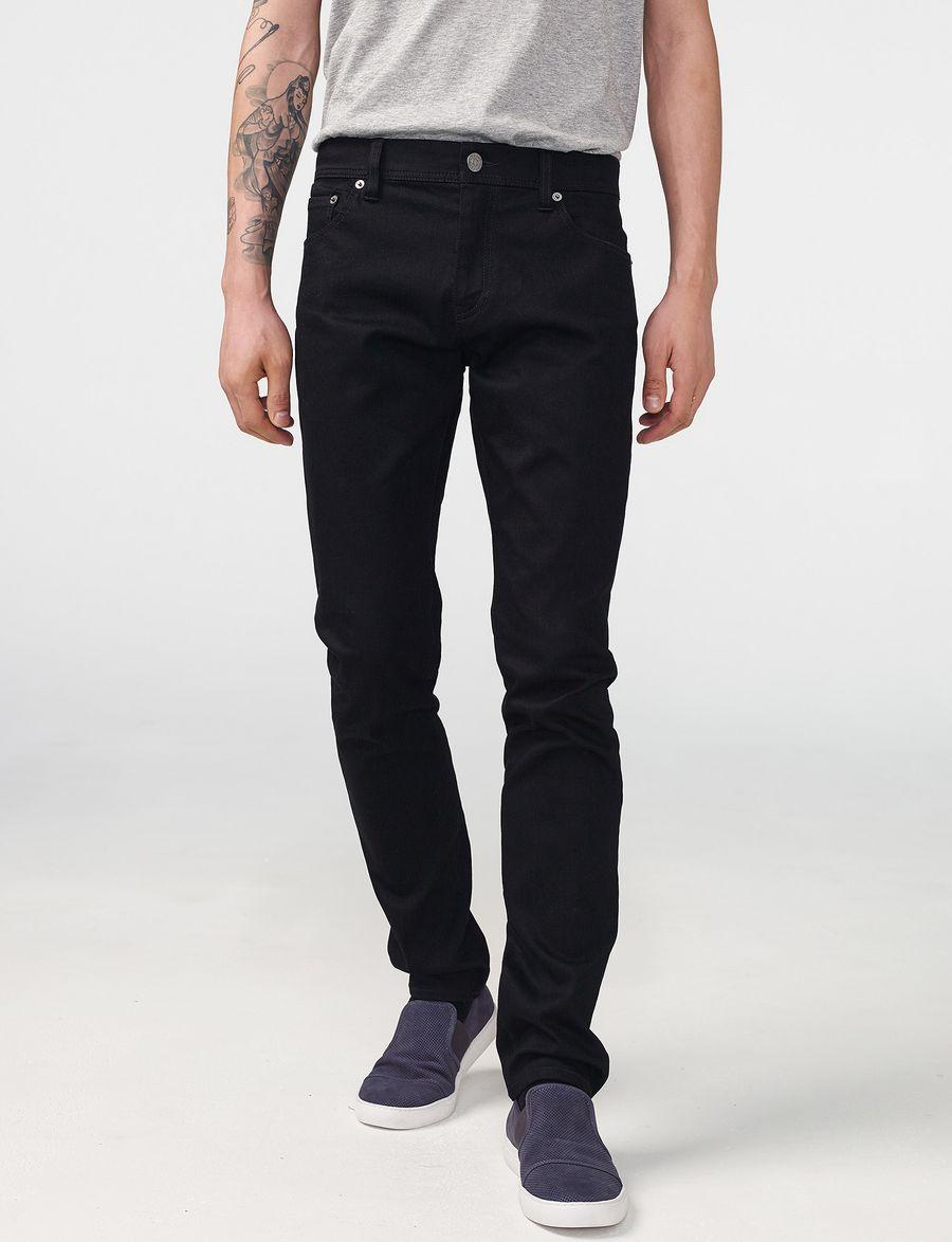 Super Skinny Black Jeans Men