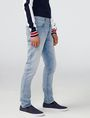 ARMANI EXCHANGE Light Wash Skinny Fit Jean Skinny Fit Denim U d
