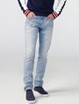 ARMANI EXCHANGE Light Wash Skinny Fit Jean Skinny Fit Denim U f