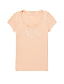 ARMANI EXCHANGE Classic A|X Scoopneck Short Sleeve Tee D d