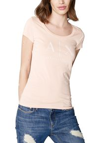ARMANI EXCHANGE Classic A|X Scoopneck Short Sleeve Tee D f