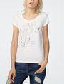 ARMANI EXCHANGE Harmony Mantra Tee Graphic T-shirt Woman f
