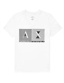 ARMANI EXCHANGE Shutter Shade Logo Tee Graphic T-shirt Man d