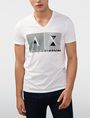 ARMANI EXCHANGE Shutter Shade Logo Tee Graphic T-shirt Man f