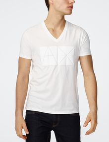 ARMANI EXCHANGE Tonal Logo Print Tee Graphic T-shirt Man f