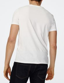 ARMANI EXCHANGE Tonal Logo Print Tee Graphic T-shirt Man r