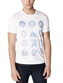 ARMANI EXCHANGE Hidden Pool Logo Tee Graphic Tee U f