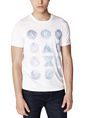 ARMANI EXCHANGE Hidden Pool Logo Tee Graphic T-shirt U f