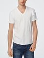 ARMANI EXCHANGE Tonal Raised Insignia Tee Graphic Tee U f