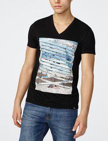 ARMANI EXCHANGE Horizon Break Tee Graphic T-shirt Man f