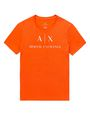 ARMANI EXCHANGE Classic Logo Crewneck Tee Graphic T-shirt Man d