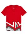 ARMANI EXCHANGE Hem Print Graphic Tee Graphic T-shirt U d
