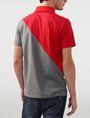 ARMANI EXCHANGE Diagonal Colorblock Logo Polo Short-sleeved polo U r