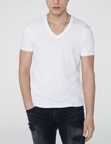 ARMANI EXCHANGE Pima V-Neck Tee Short Sleeve Tee U f