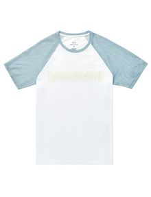 ARMANI EXCHANGE Negative Space Raglan Tee Graphic Tee U d