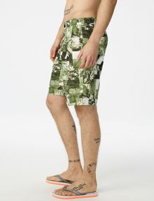 ARMANI EXCHANGE Photo Camo Short Utility Short Man d
