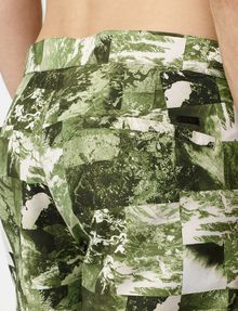 ARMANI EXCHANGE Photo Camo Short Utility Short U e