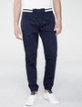 ARMANI EXCHANGE Double-Stripe Athletic Pant Jogger U f