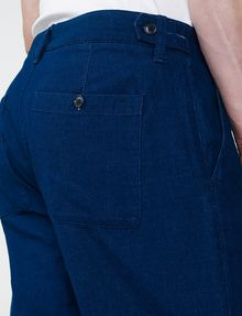 ARMANI EXCHANGE Tab Detail Cuffed Trouser Chino U e