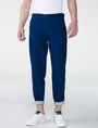 ARMANI EXCHANGE Tab Detail Cuffed Trouser Chino U f
