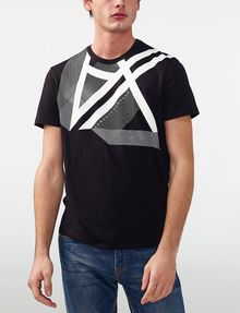 ARMANI EXCHANGE Right Side Up Logo Tee Graphic Tee U f