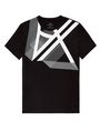 ARMANI EXCHANGE Right Side Up Logo Tee Graphic T-shirt U d
