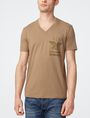 ARMANI EXCHANGE Tonal Insignia Tee Short Sleeve Tee Man f