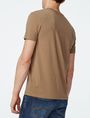 ARMANI EXCHANGE Tonal Insignia Tee Short Sleeve Tee Man r