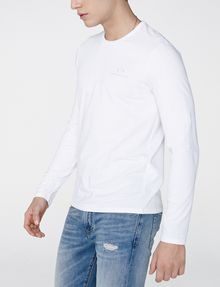 ARMANI EXCHANGE Long-Sleeve Layering Crew Long Sleeve tee U d