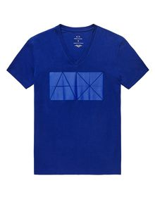 ARMANI EXCHANGE Tonal Logo Print Tee Graphic T-shirt U d
