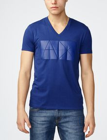 ARMANI EXCHANGE Tonal Logo Print Tee Graphic T-shirt U f