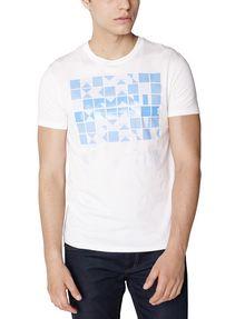 ARMANI EXCHANGE Block Stack Logo Tee Graphic T-shirt U f