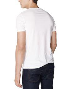 ARMANI EXCHANGE Block Stack Logo Tee Graphic T-shirt U r