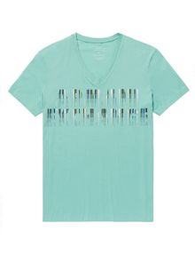 ARMANI EXCHANGE Future Exchange Logo Tee Graphic T-shirt Man d