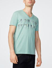 ARMANI EXCHANGE Future Exchange Logo Tee Graphic T-shirt Man f
