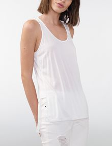 ARMANI EXCHANGE Side-Split Tank Tank top Woman f