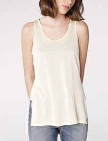 ARMANI EXCHANGE Side-Split Tank Tank top D f