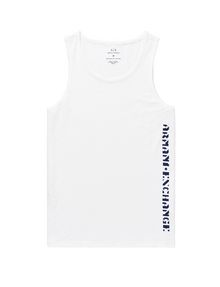 ARMANI EXCHANGE Stencil Logo Tank Graphic T-shirt Man d