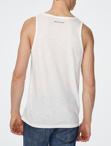 ARMANI EXCHANGE Stencil Logo Tank Graphic T-shirt Man r