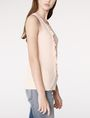 ARMANI EXCHANGE Drape-Front Shell Tank top D d