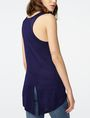 ARMANI EXCHANGE Seamed High-Low Tank Tank top Woman r