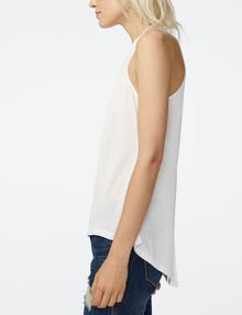 ARMANI EXCHANGE Seamed High-Low Tank Tank top D d