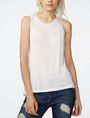 ARMANI EXCHANGE Seamed High-Low Tank Tank top Woman f