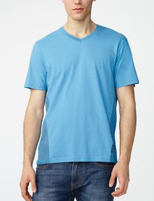 ARMANI EXCHANGE Mesh-Back V-Neck Short Sleeve Tee Man f
