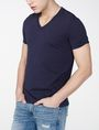 ARMANI EXCHANGE Pima V-Neck Tee Pima Tee Man d