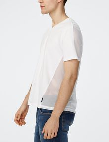 ARMANI EXCHANGE Mesh-Back V-Neck Short Sleeve Tee U d