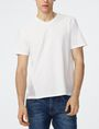 ARMANI EXCHANGE Mesh-Back V-Neck Short Sleeve Tee U f